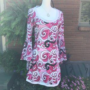 Mod Style Mini Dress